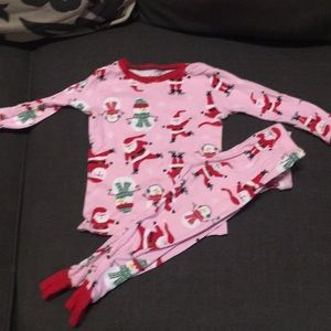 Carters Christmas pajamas (size 18 months)